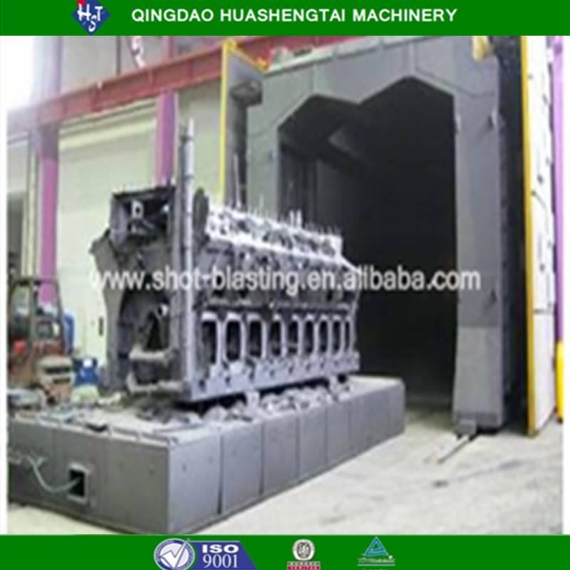Quality assurance Rotary table shot blasting machine HQ36 series