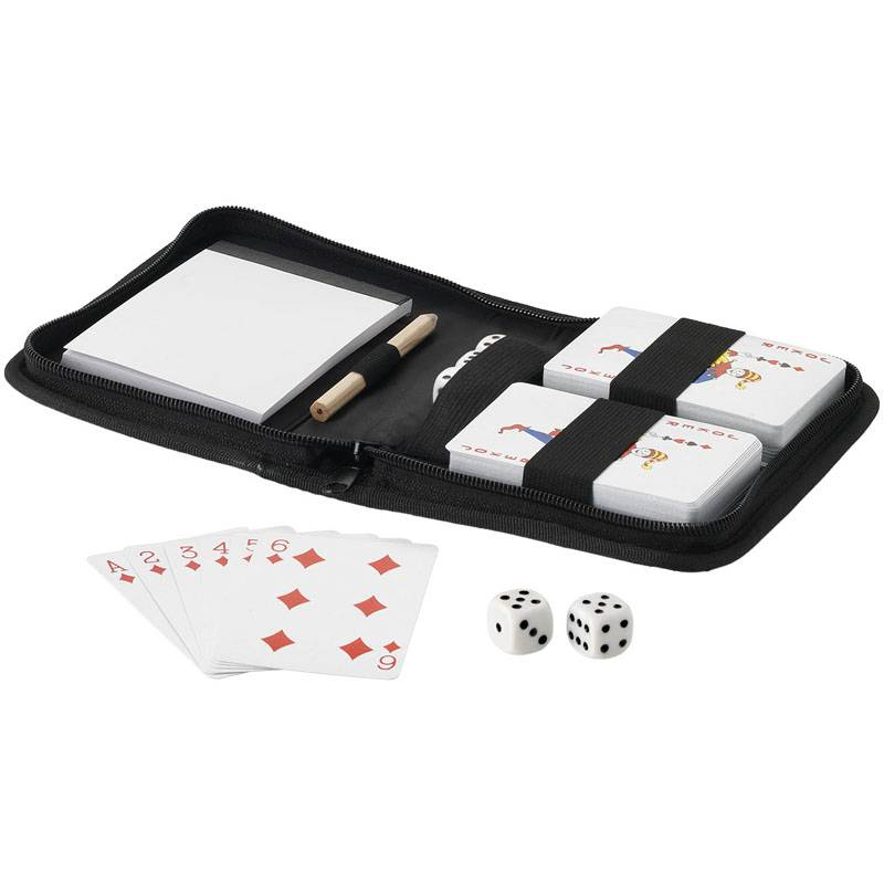 Playing Cards in Travel Pouch