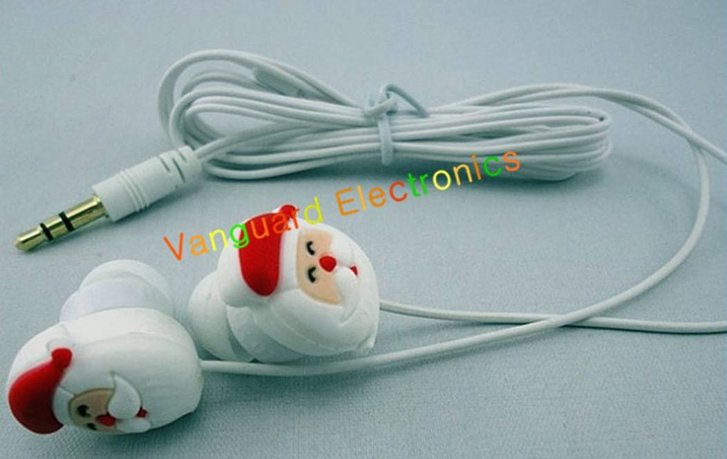 Santa Claus earphone