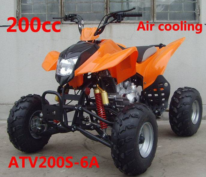 200cc air cooled: ATV200S-6A