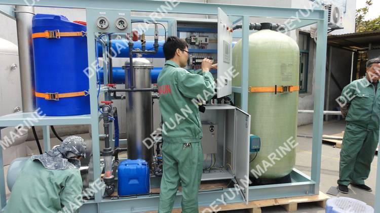 Marine Reverse Osmosis Fresh Water Generator