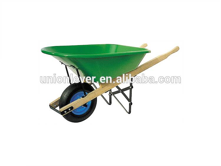 Wooden handle wheel barrow 100kg CW 3010/P