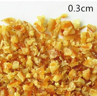 Candied China Orange Peel Grain, Dice