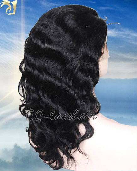 Wholesale Indain Brazilian Body Wave Human Hair Full and Lace  Front Wigs Seller