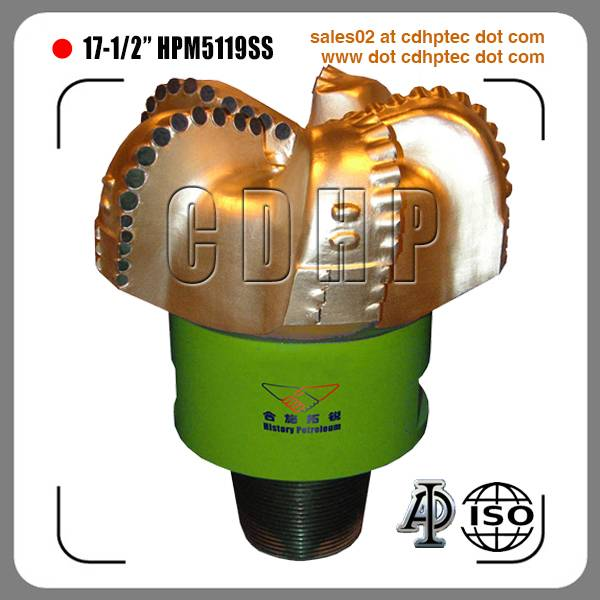 "17 1/2"" pdc drilling bit for oil and gas"