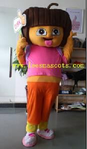 OISK Professional custom mascot costume DORA mascot adult size