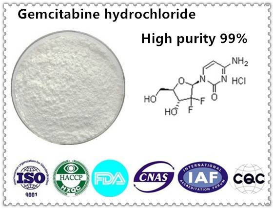 Gemcitabine hydrochloride 99% CAS NO:122111-03-9 10g/bag