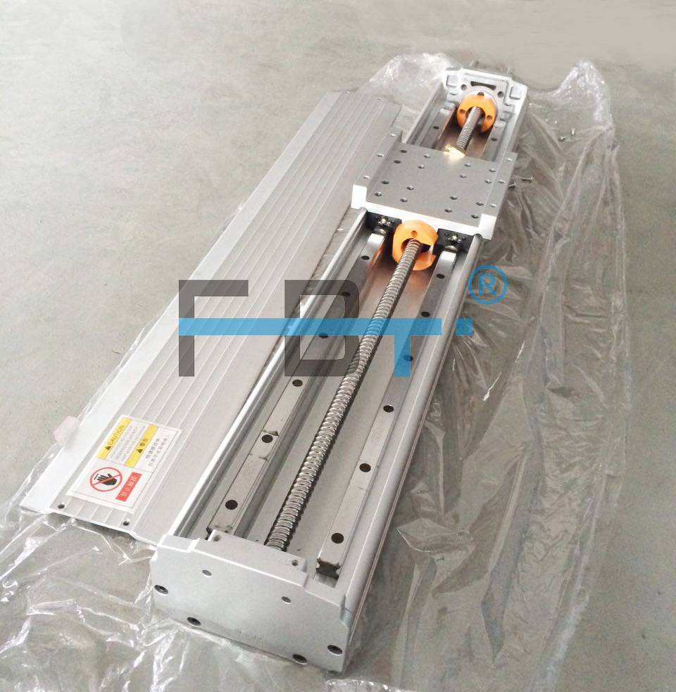 120mm Width Ballscrew Driven Linear Motion Stage Linear Module