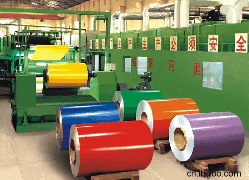 Prepainted hot diped galvanized steel coil