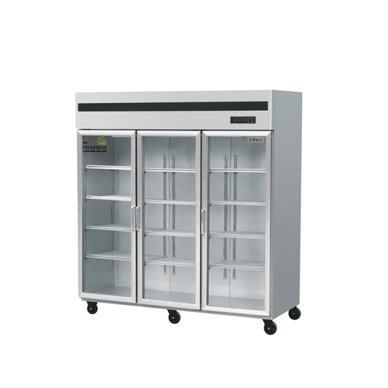 Commercial 6 glass Doors upright display freezer in Refrigeration Equipment,Upright freezer deep fre