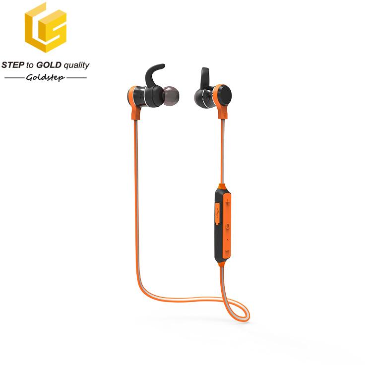 Quality-sound sport wireless bluetooth headphone with mic