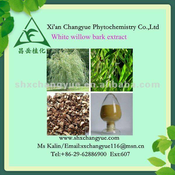 white willow bark P.E. 15%-98% salicin