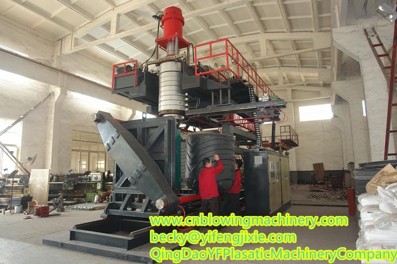 2000-3000L blow molding machinery