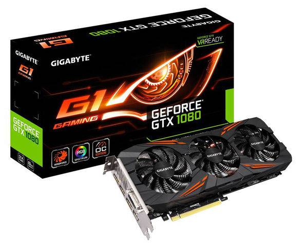 BUY GEFORCE GTX 1080 GIGABYTE GEFORCE GTX 1080 G1 GAMING EDITION WITH WARRANTY