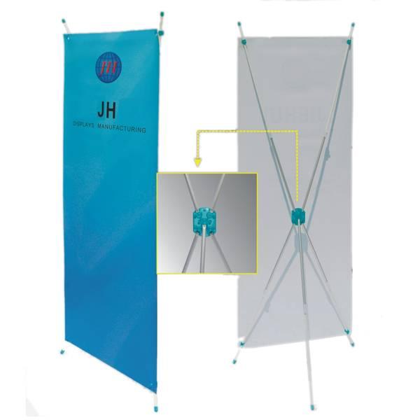 Cheap Lightweight Tension X Banner Stand