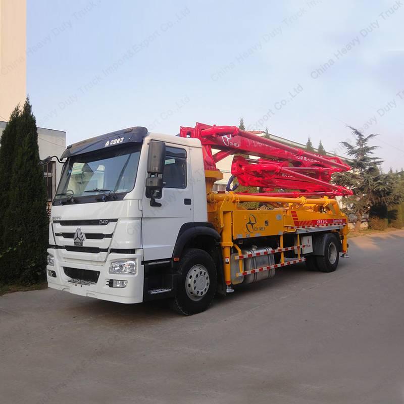 Hot Sale HOWO 29m Concrete Pump Truck