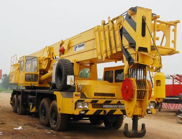 Used TADANO TG-800E Truck Crane