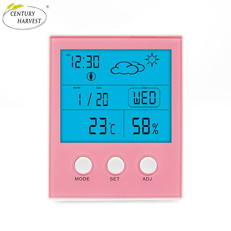 Indoor Outdoor Temperature Humidity Meter wireless weather station thermometer hygrometer