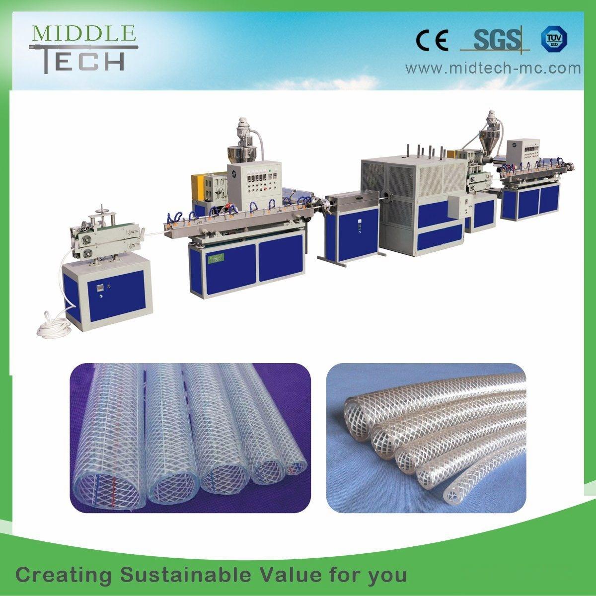 PVC Braid Reinforced Hose Production Line