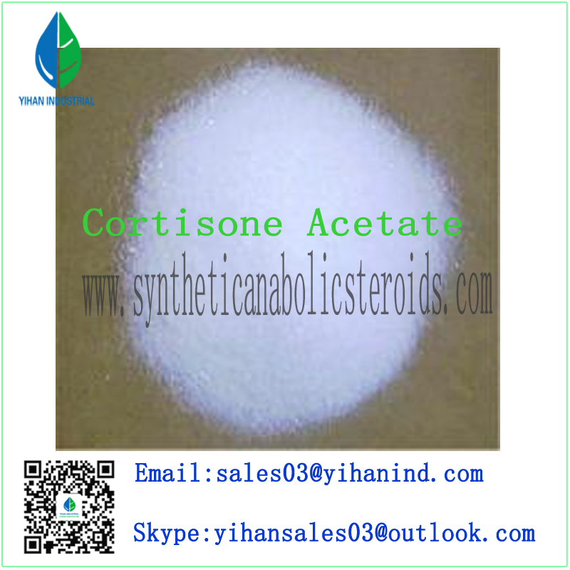 Antiinflammatory Agent Cortisone Acetate for Anti-Inflammation CAS: 50-04-4 Iris