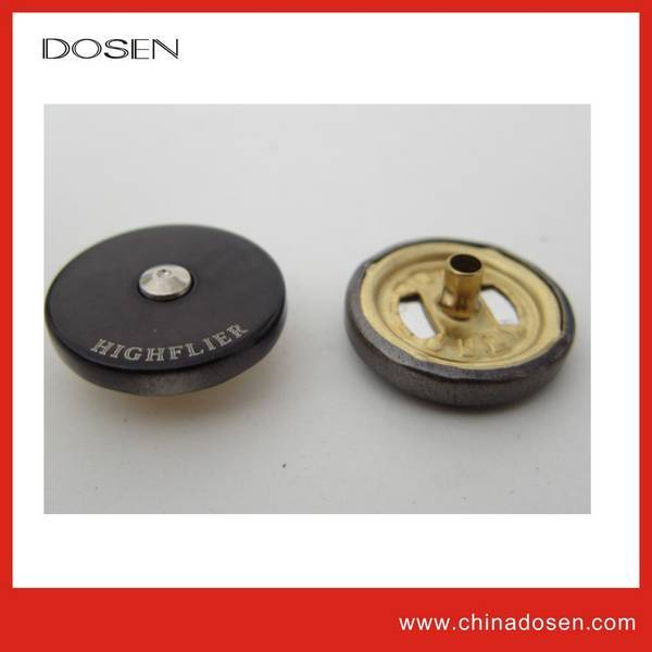 high quality snap button hot sale metal button