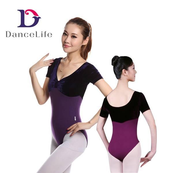 velvet ballet leotard