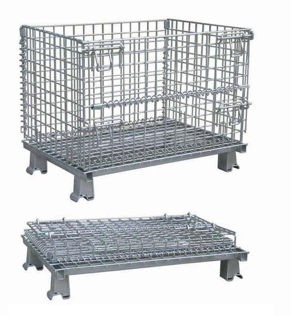 GALVANIZED steel  warehouse cage storage box  (FOR MARKET OR WAREHOUSE) manufacturer direct sale