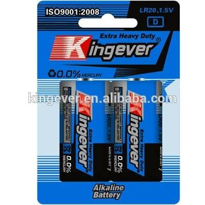 Super Power 1.5V D AM-1 LR20 alkaline dry cell battery