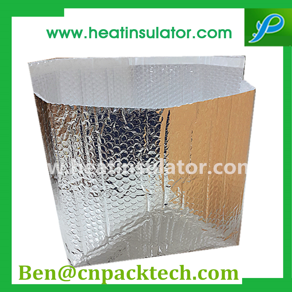 Cool Pack Aluminum Foil Insulated Bubble Box liners