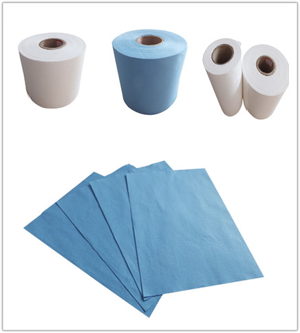 Parallellaying spunlace nonwoven fabric
