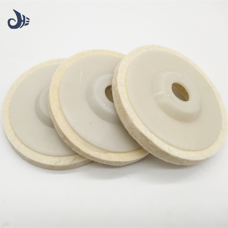 China supply super quality angle grinder polishing disc felt polishing disc for glass