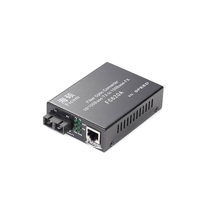 Dual Fiber 10/100Mbps Fast Ethernet Fiber Optic Media Converter