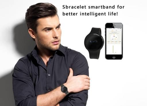 Smart Bracelet Outdoor Fitness Equipment Bluetooth 4.0 Waterproof Touch Screen Fitness Tracker