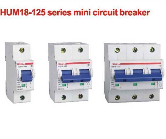 HUM18-125 Series Mini Circuit Breaker