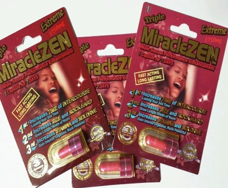 MIRACLEZEN RED  MALE PERFORMANCE ENHANCEMENT LIBIDO MEN SEXUAL STAMINA GROW