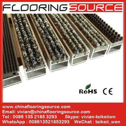 Aluminum Recessed Floor Matting Indoor/Outdoor Entrance Commercial Carpet