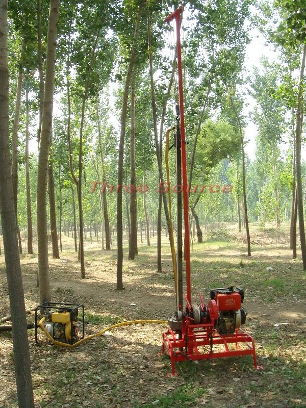 Man portable drilling rig TSP-30