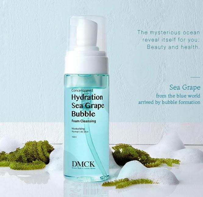 DMCK Hydration Sea Grape Bubble Foam Cleansing - foam cleanser for dry skin
