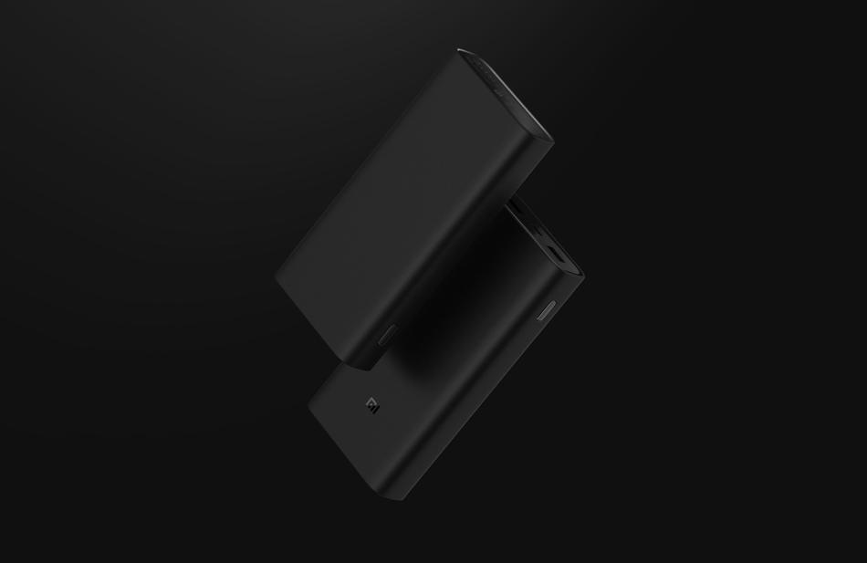 20000mAh Redmi 18W Fast Charge Power Bank Black