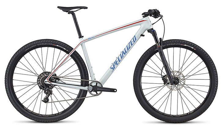 2017 Specialized Epic Hardtail Comp Carbon World Cup MTB