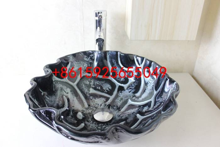bathroom basin,glass sink,wash basin vessel sink wash sink bathroom cabinet sink n-742