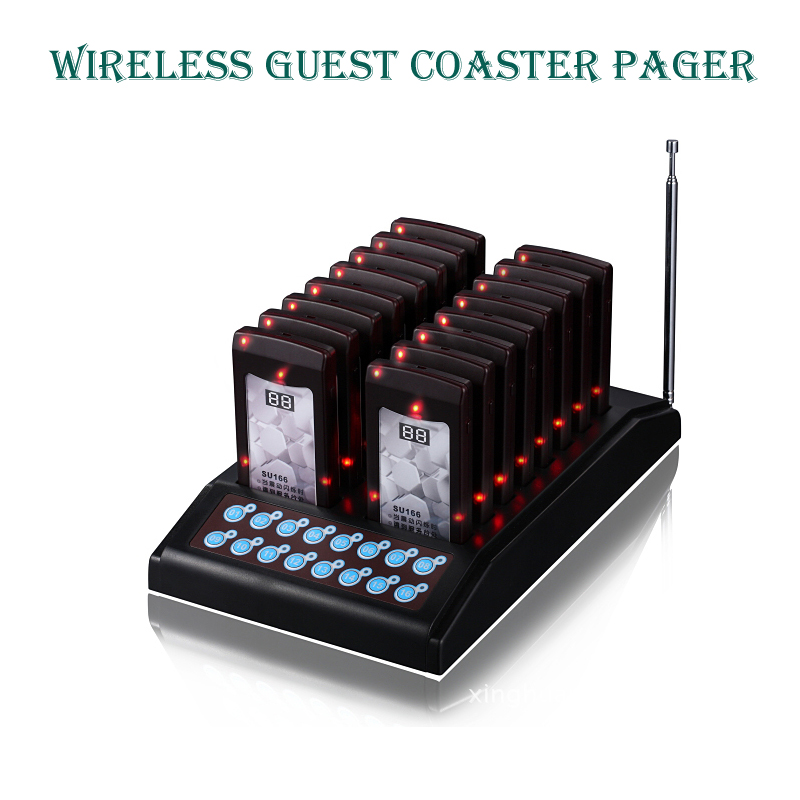 slim bar pager,wireless coaster buzzer pager,waiter buzzer for fast food restaurant ,pager,Guest cal