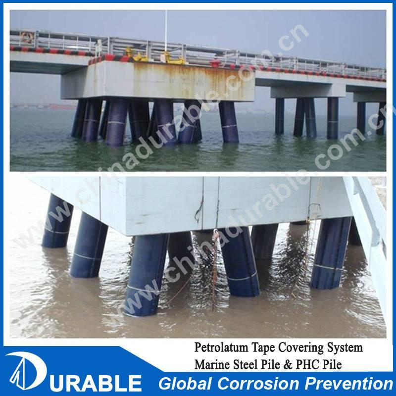 Marine Steel Pipe Coat Petrolatum Tape Covering System