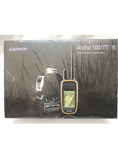 Garmin Alpha 100 TT 15 Dog Collar Bundle