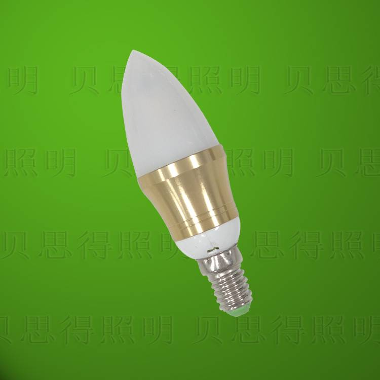 4w Die-Casting Aluminum Golden Cuspidal LED Bulb light
