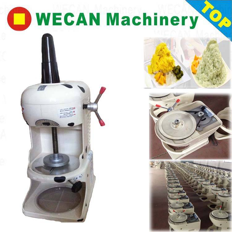 snow flake ice shaved machine/ice machine for shaving solid ice block /ice shaver