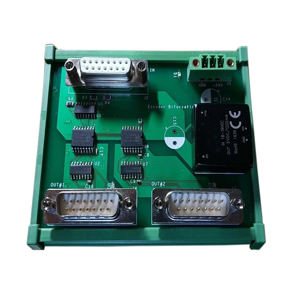 8MHZ Encoder distributor for 2, 3, 4, 5, 7, 8 same speed servo motors