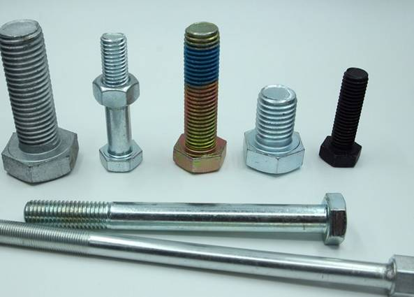 Aluminium hex Bolt M3 x (0.5mm) x 10mm