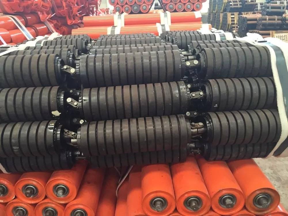 belt conveyor Impact roller,conveyor idler with high quality