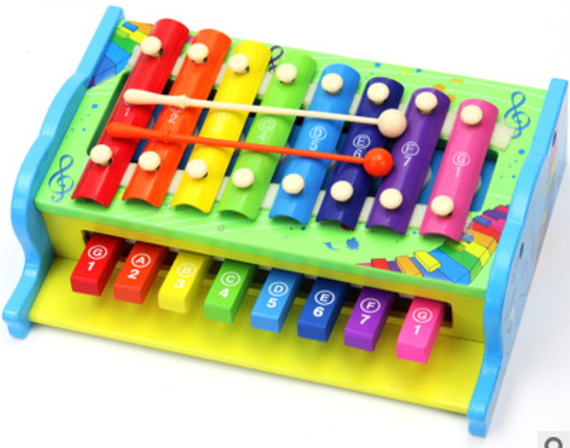 Wooden Musical Xylophone Piano Instrument Kids Education Toys Christmas Gifts Wooden Toys